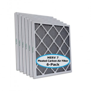 Tier1 P75S.612525 25x25x1 Carbon Air Filter (6-pack)