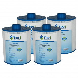 C-8450 & PCS50N Comparable Pool and Spa Filter by Tier1 (4-Pack)