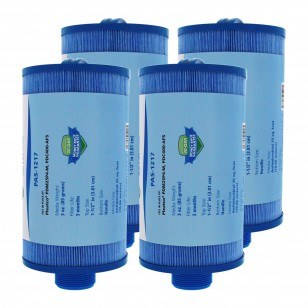 Tier1 brand replacement filter for systems that use 4 3/4-inch diameter by 8 1/8-inch length filters (Antimicrobial) (4-Pack)