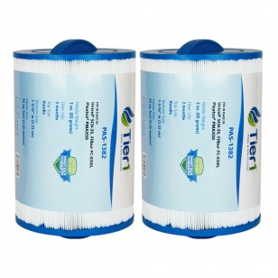 Tier1 brand replacement filter for systems that use 5 5/8-inch diameter by 8-inch length filters (2-Pack)