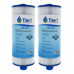 Tier1 brand replacement filter for systems that use 4 3/4-inch diameter by 11 3/8-inch length filters (2-Pack)