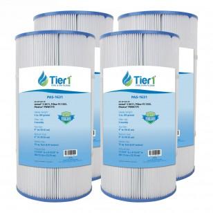 817-0075N Waterway Clearwater Comparable Pool and Spa Filter Replacement by Tier1 (4-Pack)