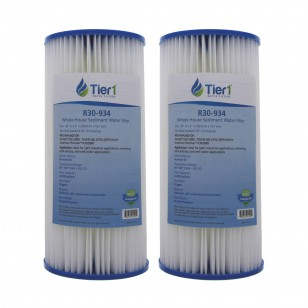 R30BB Pentek Comparable Whole House Water Filter by Tier1 (2-Pack)