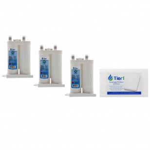 WF2CB Frigidaire PureSource2 Comparable Refrigerator Water Filter Replacement (3-Pack) and Magic Erasing Sponge (12-Pack) kit by Tier1 (TIER1_RWF1031_SPONGE_3_PACK)