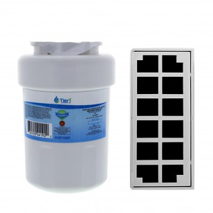 GE MWF & Odorfilter Comparable Refrigerator Water & Air Filter Combo by Tier1
