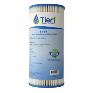 S1-BB Pentek Comparable Whole House Sediment Water Filter by Tier1
