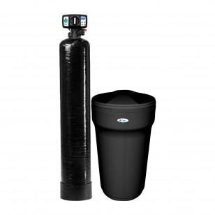Series 10000 Hardness, Iron and Manganese Filter and 45,000 Grain Capacity Water Softening System by Tier1
