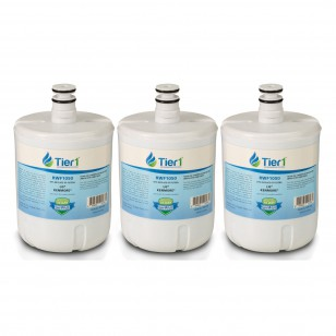 WSL-1 Comparable Refrigerator Water Filter Replacement by Tier1 (3-Pack)
