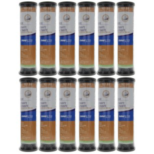 TO1SS OmniFilter Whole House Water Filter Replacement (12-Pack)