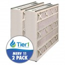 16x25x5 255649-105 & 259112-105 Trion / Air Bear MERV 11 Comparable Air Filter by Tier1 (2-pack)