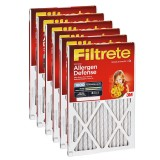 Filtrete 1000 Micro Allergen Defense Filter - 25x25x1 (6-Pack)