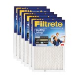 Filtrete 1900 Ultimate Allergen Healthy Living Filter - 12x12x1 (6-Pack)