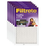 Filtrete 1500 Ultra Allergen Healthy Living Filter - 12x12x1 (6-Pack)