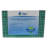 Tier1 Refillable Grid and Merv 8 Antimicrobial Media Air Filter - 16x25x01