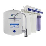 5-Stage Reverse Osmosis System with Brushed Nickel Faucet by Tier1