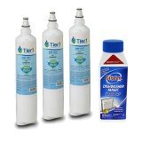 5231JA2006A / LT600P LG Comparable Refrigerator Water Filter Replacement and DM06N Glisten Dishwasher Magic Dishwasher Cleaner Bundle by Tier1