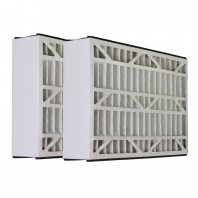 Tier1 Air Cleaner Filter for GeneralAire: 16 x 25 x 5 - MERV 11 (2-Pack)
