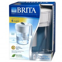 Brita Classic Water Filter Pitcher (48 Ounce, #OB01)