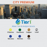 PREMIUM Tier1 Water Testing and Analysis Service for CITY water