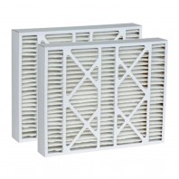 DPFW16X25X5DCR2 Tier1 Replacement Air Filter - 16X25X5 (2-Pack)
