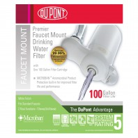 Dupont WFFM300XW Low Profile Faucet Mount Drinking Water Filter System