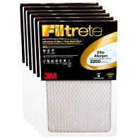 Filtrete 2200 Elite Allergen Filter - 20x30x1 (6-Pack)