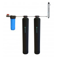 Whole Home Carbon and KDF + UV Water Purification and Salt Free Water Softening System by Tier1