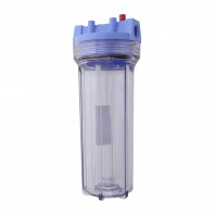 Pentek 158214 Clear Traditional Slim Line Filter Housing