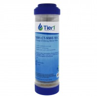 10 x 2.5 Inch 10 Stage Countertop or Undersink Filter Cartridge Replacement by Tier1