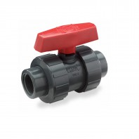 3/4-inch UPVC Double Union Ball Valve by Tier1
