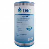 ECP5-BB Pentek Comparable Whole House Sediment Water Filter by Tier1 (6-Pack)