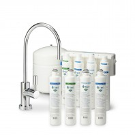 RO-QC-450 4-Stage Quick Change Reverse Osmosis Water Filter System PLUS Filter Change Set by Tier1 (50 GPD)