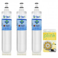 EDR5RXD1 EveryDrop 4396508/4396510 Whirlpool Comparable Refrigerator Water Filter and Plink Garbage Disposal Cleaner (3 Pack) by Tier1