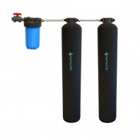 Whole Home Carbon and KDF Water Purification and Salt Free Water Softening System by Tier1
