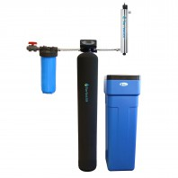 Tier1 48,000 Grain Capacity Water Softener with 20-Inch Pre-Filter Kit and 18 GPM UV Disinfection