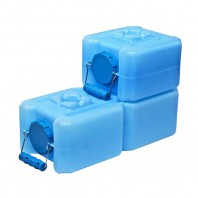 1833-0005 WaterBrick 1.6 Gallon Stackable Water and Food Storage