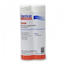 W50W American Plumber Whole House Sediment Filter Cartridge (2-Pack)