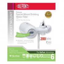 Dupont WFFM350XW Deluxe Faucet Mount Drinking Water Filter System