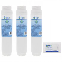 644845 / UltraClarity REPLFLTR10 Bosch Comparable Refrigerator Water Filter Replacement by Tier1 (3-Pack) and Magic Erasing Sponge (12-Pack) kit by Tier1 (TIER1_RWF1110_SPONGE_3_PACK)