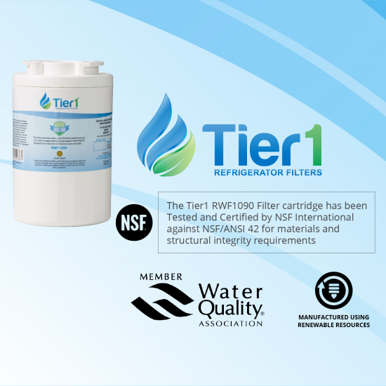 12527304 Amana Comparable Refrigerator Water Filter Replacement by Tier1 (Chart 2)