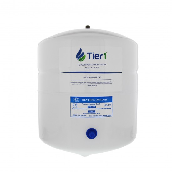 5-Stage Reverse Osmosis System by Tier1 (water tank)