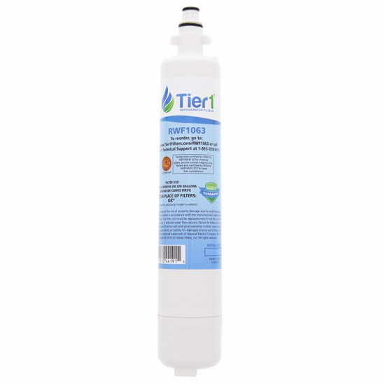 GE RPWF Comparable Refrigerator Water Filter Replacement By Tier1