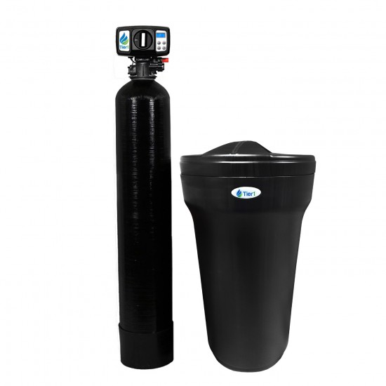 48,000 Grain Capacity Series 165 Black Water Softener by Tier1