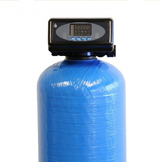 Everyday Series 48,000 Grain High Efficiency Digital Water Softener with Pre-Filtration System and UV Protection (Valve Head)