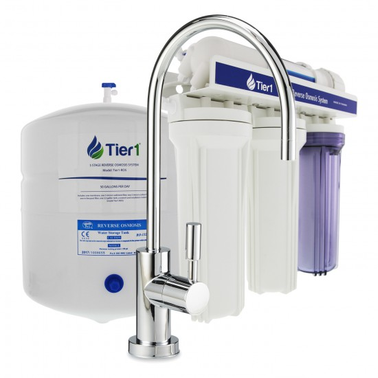 5-Stage Reverse Osmosis System by Tier1