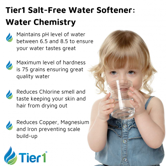 Series 10000 Whole House Carbon and KDF Water Purification and Salt Free Water Softening System by Tier1 (Water Chemistry)