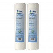 W5P American Plumber Comparable Whole House Sediment Filter Cartridge by Tier1 (2-Pack)