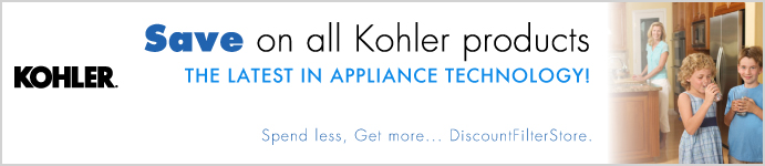 Kohler Products from DiscountFilterStore.com